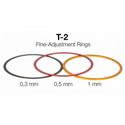 T2 Abstimmringe aus Aluminium Set ohne Gewinde