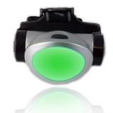 Kopflampe2 Grün für Astronomie, Jagd, Angeln