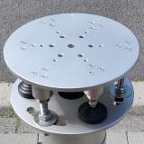 Astromann Nivelliersäule Apollo 151x1000mm aus Edelstahl