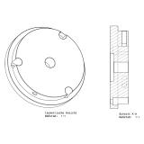 Stativadapter für Celestron CGE auf CPC Stativ