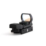 TS Optics Rotpunktvisier - RED DOT 21-mm-Weaver-Montage