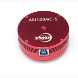 ZWO ASI120MC-S USB3.0-High-Speed-Farbkamera - Mond, Planeten, Wetter