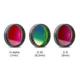 Baader 1,25 Schmalband 3er Filterset-für CCD Fotografie