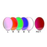 CCD Komplettfiltersatz I 50,4mm, L-RGB-C / H-alpha 7nm