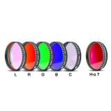 CCD Komplettfiltersatz I 2, L-RGB-C / H-alpha 7nm